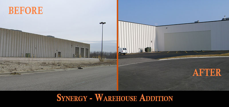 synergy warehouse addition